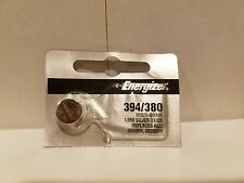 1 x 394 Energizer FRESH 380 (SR936SW) Coin Cell Silver Oxide Batteries NEW