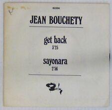 Interprètes Beatles 45 tours Jean Bouchety Get Back BARCLAY