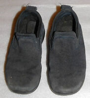 Lands End Black Toddlers Slip on Casual Shoes Non Slip Soles Loafers 11 Girl Boy