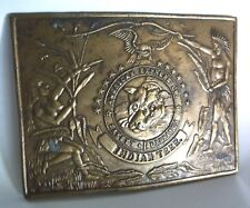 "Vtg. Belt Buckle ""American Express Co. Safety Dispatch Ind. Territory K-36"