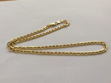 "9ct Gold 20"" fancy link chain"