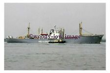 mc4994 - Greek Hellenic Line Cargo Ship - Hellas - photograph 6x4