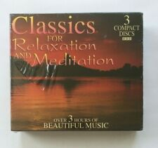 Classics for Relaxation and Meditation (CD, Sep-1995, 3 Discs, Madacy)