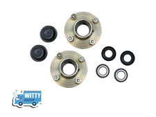 "2X Trailer Wheel Hub High Quality Set 4"" Pcd 8 Studs & 4 Taper roller bearings"