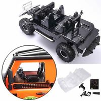 1/10 Simulation Auto Interior Dekor Body Shell Für Traxxas TRX-4 Defender D110