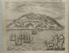 de Bry Theodore chile 1655 island la mocha provincia Arauco Región Biobío