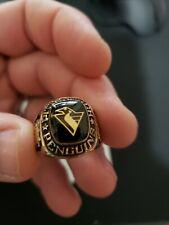 Pittsburgh Penguins NHL Team Ring, Vermeil, L.G. Balfour Ltd. Edition