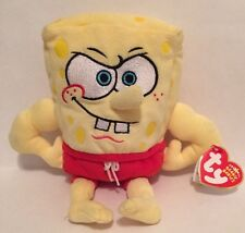 """New MuscleBob BuffPants Plush  7"""" With Tag"""