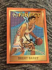Brent Barry 1995-96 Finest RC Autograph!