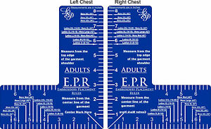 Embroidery Placement Ruler EPR