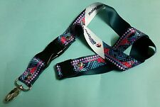 Malaysia Airlines Stewardess GREEN Batik Lanyard Aviation Aeroplane Aircraft