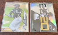 2020 TOPPS CHROME UPDATE Lot (2) LUIS ROBERT RC ROOKIE DEBUT #U-58 Decades Next