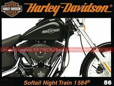 HARLEY DAVIDSON FXSTB 1584 Softail Night Train Légende Barcelona Days DYNA Story