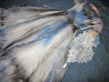 Victorian Day of the Dead corpse bride wedding dress Costume Mardi Gras gothic