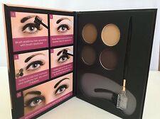 Beauty Treats Eyebrow Kit - exp.2020  4 Eyebrow Powders, with stencils Brush