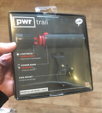 Knog PWR Trail 1000 Lumens,Power Bank 5000mAh Front Cycle Light USB Rechargeable