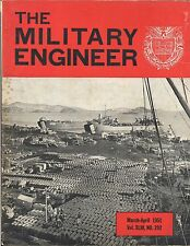 MILITARY ENGINEER 1951 - LOT OF FIVE ISSUES