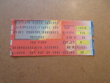 1985 The Firm Concert Ticket Stub hartford civic center Ct Jimmy Page