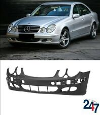 NEW MERCEDES MB E CLASS W211 03-06 CLASSIC FRONT BUMPER WITH HEADLIGHT WASH