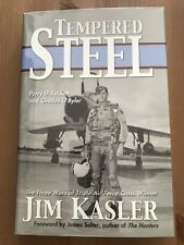 AUTOGRAPHED Tempered Steel MINT copy signed by 3 time Air Force Cross recipient