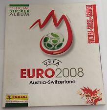 Euro 2008 Album Vuoto Edizione Svizzera Panini