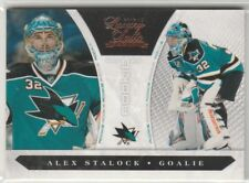 ALEX STALOCK RC #248 SAN JOSE SHARKS #/899 2010-11 LUXURY SUITE