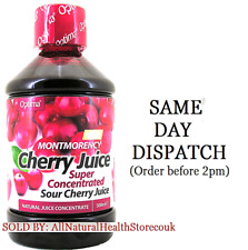 3x Optima Sour Montmorency Cherry Juice 500ml Super Concentrate,Natural Flavour
