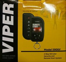 Viper 5906V 2-Way HD Color Security / Remote Start / Keyless Entry / SmartStart