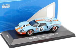 Ford GT40 Gulf #6 Winner 24h LeMans 1969 Ickx, Oliver 1:43 Ixo