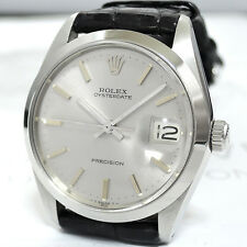 ROLEX OYSTER DATE PRECISION 6694 ANTIQUE MODEL AUTOMATIC 100%AUTHENTIC CF4906