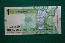 Turkmenistan 1 Manat PRESS CONDITION!!! 2012
