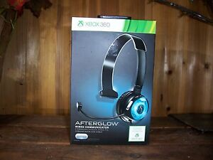 XBOX 360 AFTERGLOW WIRED COMMUNICATOR HEADPHONE HEADSET GAMING ACCESSORIES NEW