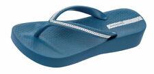 Sandali e scarpe zeppe blu Ipanema per il mare da donna