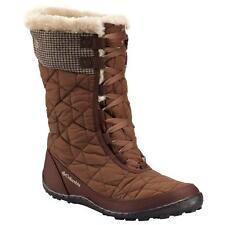 COLUMBIA Minx Mid II Tweed Winter Snow Boots Womens 5 Omni-Heat Waterproof