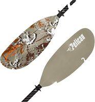 "Pelican Catch Kayak Paddle Adjustable Fiberglass Shaft, 98.5"", PS1974, Tan"