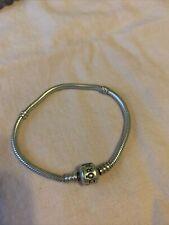 PANDORA Clasp Snake Chain Bracelet