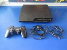 SONY PS3 CONSOLE SLIM 160GB CECH-3002A With Controller and power cord no Hmdi