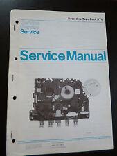 Original Service Manual  Philips Recorders Tape Deck RT-1