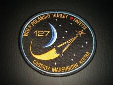 NEW OLD STOCK NASA SPACE SHUTTLE ERA STS-127 MISSION IRON ON PATCH