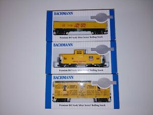 Lot of 3 Bachmann Cars 19701 17201 17701 Animated Horse, Gondola, Wide Caboose