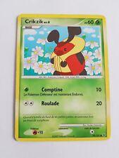 Carte pokémon crikzik 78/127 commune platine