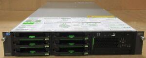 Fujitsu Primergy RX300 S6 2 x Xeon Quad Core E5620 2.4GHz 1.8TB 15k SAS Server