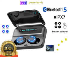 F9-5 TWS Bluetooth 5.0 Wireless headset IP67 waterproof earbuds