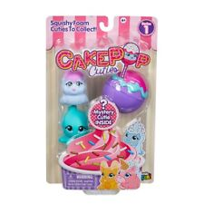 Cake Pop Cuties Multi Pack - Squishy Foam Characters - NEW 2018