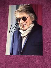 Photo Dédicacée Autograph Jacques Dutronc