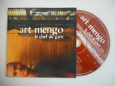 ART MENGO : LE CHEF DE GARE [CD SINGLE PORT GRATUIT]