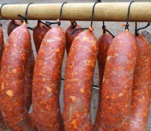 5m natural hog casings sausage skin  for chorizo sausages, cumberland etc