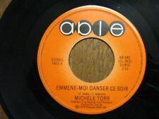 MICHELE TORR 45 TOURS CANADA EMMENE-MOI DANSER CE SOIR