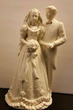 Westland wedding musical figurine #3934 porcelain 1997 vintage Mendelsohns March