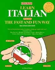 Learn Italian the Fast and Fun Way with Book